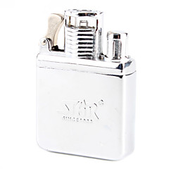 Earth Brand Vintage Silver Oil Lighter