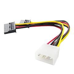Un à deux Interface SATA Câble (15 cm)