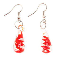 Arty-Crafty Drop Shaped Earings (Assorted Color)