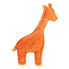개에 녹색 수세미 애완 동물 장난감 청소 사슴 스타일 투스
