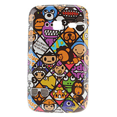 Animal Pattern Hard Case voor Samsung Galaxy Y S6102 Duos
