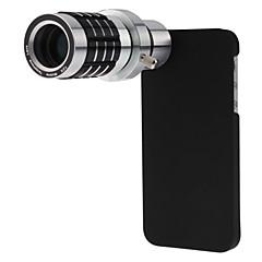 Fém Hosszú gyújtótávolságú lencse 10X és felett 33*x99 3 70 Lencse tokkal iPhone 5