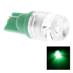 T10 1.5W Green Light LED Bulb for Car Side Maker Lamp (DC 12V)