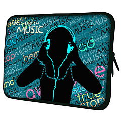 "Musikk Mønster 7 ""/ 10"" / 13 ""Laptop Sleeve Case for MacBook Air Pro / Ipad Mini / Galaxy Tab2/Sony/Google Nexus 18207"