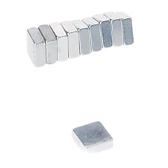 Magnet Toys 10Pcs 5*5*2mm Magnet Toys / Super Strong Rare-Earth Magnets / Neodymium Magnet Executive Toys Puzzle Cube DIY ToysMagnetic