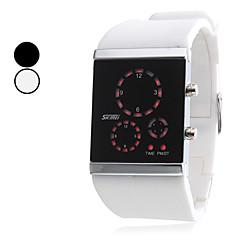 Unisex Silicone LED relógio de pulso Digital (cores sortidas)