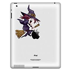 Witch Pattern Protective Sticker für iPad 1, iPad 2, iPad 3 und das neue iPad