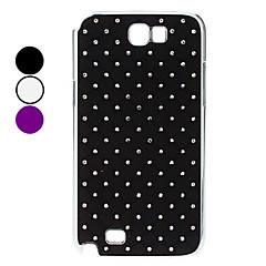 Starry Sky Pattern Hard Case kanssa tekojalokivi Samsung Galaxy Note 2 N7100 (Assorted Colors)