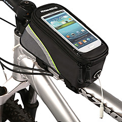 ROSWHEEL® Bisiklet ÇantasıBisiklet Çerçeve Çantaları Su Geçirmez / Su Geçirmez Fermuar Bisikletçi Çantası Su Geçirmez Malzeme / Kumaş