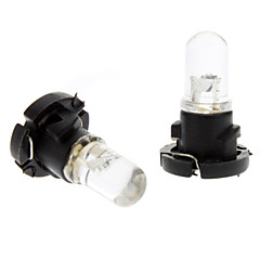 T4.2 0.2W RGB Light LED pære til bil Instrument Lamp (DC 12V, 1-Pair)