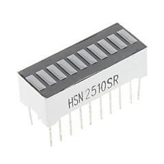 10-segments à LED bar lumière