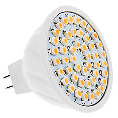 GU5.3(MR16) LED Spotlight MR16 48 SMD 3528 230 lm Warm White DC 12 V