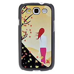 Back of Woman Pattern Hard Case for Samsung Galaxy S3 I9300