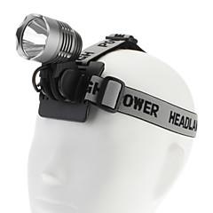 1200LM אור צריכת חשמל גבוה נטענת ופנס אופניים (עם סוללה ומטען)