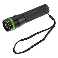 GTQQ SA-501 foco ajustable linterna del zumbido LED 3-Mode (varios colores, 120LM, 1xAA)