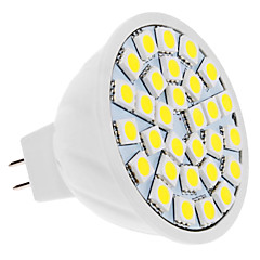 5W GU5.3(MR16) Faretti LED MR16 30 SMD 5050 420 lm Bianco DC 12 V