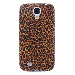 Tyylikäs Leopard Print Pattern Soft Case for Samsung Galaxy S4 I9500