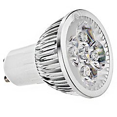 5W GU10 LED Spot Lampen MR16 4 High Power LED 330 lm Warmes Weiß / Kühles Weiß AC 85-265 V 1 Stück