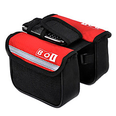 BOI® Bike BagBike Frame Bag / Bike Saddle Bag Skidproof / Shockproof Bicycle Bag Cloth / 600D Ripstop Cycle BagLeisure Sports /