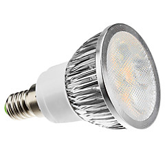 4W E14 LED-spotlampen MR16 4 Krachtige LED 360 lm Warm wit Dimbaar AC 220-240 V