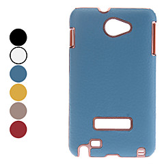 Litchi Grain Hard Case for Samsung Galaxy Note I9220 (Assorted Colors)