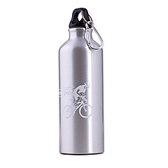 500ml Silver Aluminum Alloy Cykel Bottle