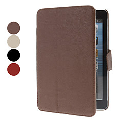 Litchi Pattern PU leather Full Body Case for iPad mini 3, iPad mini 2, iPad mini (Assorted Colors)