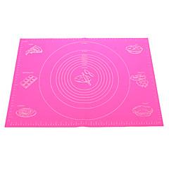 enorme omvang siliconen pad bakken mat met markeringen (willekeurige kleur)