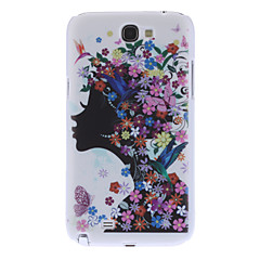Girl Pattern Hard Case for Samsung Galaxy Note 2 N7100