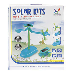6-In-1 DIY Novelty Upgraded Educational Solar Assembly Toys