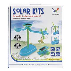 6-in-1 DIY Educational Solar-Neuheit aktualisierten Assembly Toys