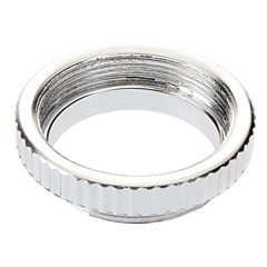 C Mont Micro Ring for CCTV objectif vidéo (Silver)