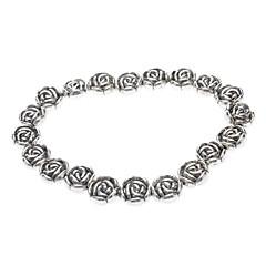 Tibetan silver Rose Bracelet