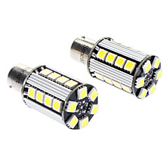 1156 5W 26x5050SMD 400-450LM 6000-6500K LED White Light Car Brake / Backup / Turn Light (DC 12V, 1-Pair)