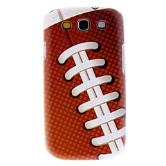 Matte Estilo Bola Padrão Durable Hard Case para Samsung Galaxy S3 I9300