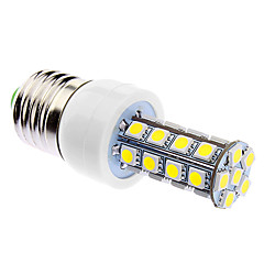 6W E26/E27 LED-kolbepærer 30 SMD 5050 500 lm Naturlig hvid Justérbar lysstyrke Vekselstrøm 85-265 V