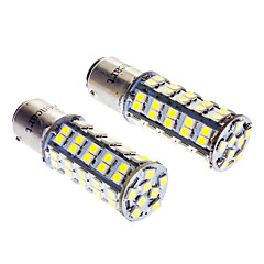 1142 3.5W 6000-6500K 250LM 68x3528SMD LED White Light Bulbs for Car (12V)