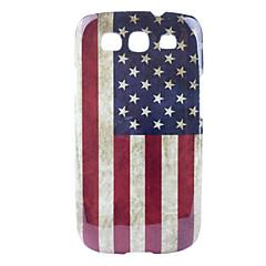 Retro US Case Style Bandiera nazionale modello rigido per Samsung Galaxy S3 I9300