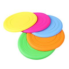 zachte silicagel frisbee voor honden (willekeurige kleur)