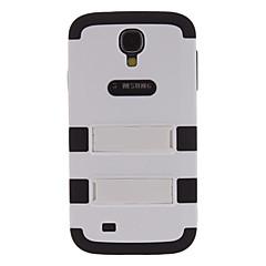 kisel färgmatchning hårda fallet med stativ för Samsung Galaxy S4 i9500