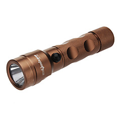 Skyeye CG-730 rechargeables 3-Mode Cree XP-E R5 LED Flashlight (240LM, 1x18650, cuivre)