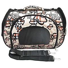 Cães Pequeno Dual-padrão de uso Bag Transportadora bonito com Cintos para Animais de estimação Cães (tamanhos variados)