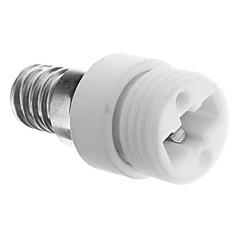 E14 al adaptador del zócalo G9 LED Lámparas de cerámica