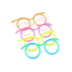 Straw Projektowanie Glasses (kolor losowo)