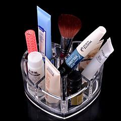 Organizador para Maquiagem Caixa de Cosméticos / Organizador para Maquiagem Acrílico Cor Única 11.5x9x5.7