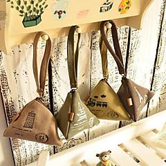 rijstbol vormige linnen portemonnee (willekeurige kleur)