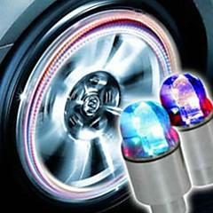 תאורה לגלגלי המכונית ב7 צבעים בצורה כדור בסגנון גחלילית.