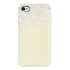 Pearl Lace Back Case for iPhone 4/4S