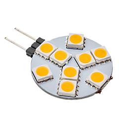 Lampadine globo LED 9 SMD 5050 G4 70-100 LM Bianco caldo AC 12 V