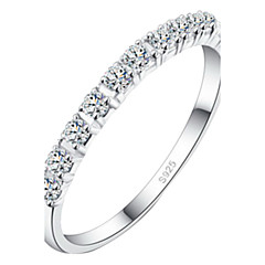z&x® (1 st) mode voor vrouwen transparante strass ringen